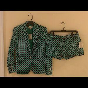 Michael Kors Suit Jacket with Shorts